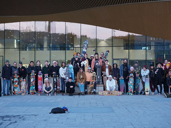 A nordic longboard dancing event? Oh HELyes!