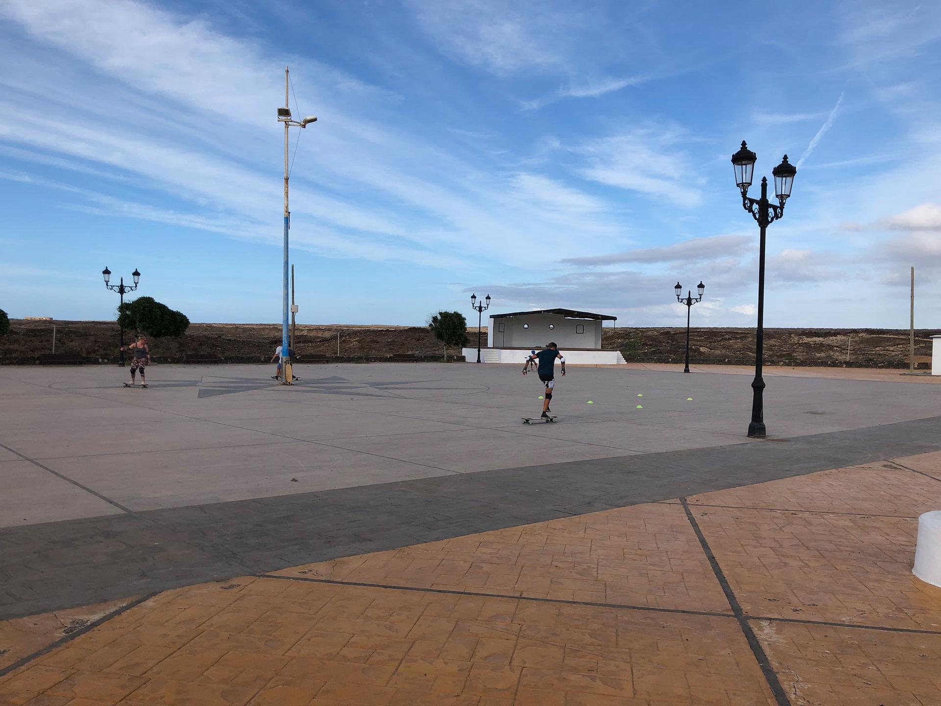 Longboard Dancer's heaven in Fuerteventura
